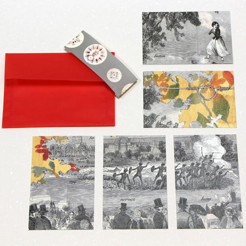 Benjamin Finger Postcard Sets